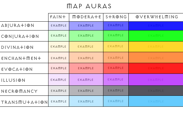Aura Color Meanings Chart – Wonderful Image Gallery